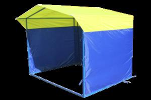 из каких материалов можно сделать торговый павильон или палатку