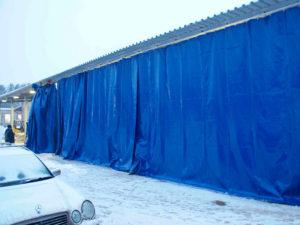 как используются в промышленности шторы ПВХ