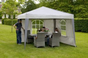Как подобрать шатер для Вашего сада